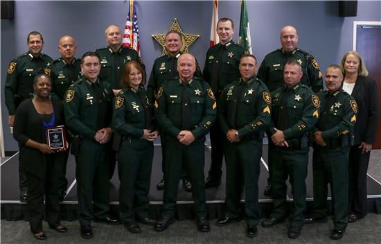 18-194 Pinellas County Sheriff Bob Gualtieri Hosts Promotion